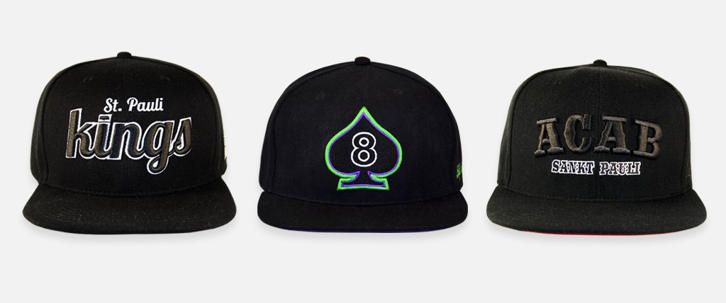 header-snapback caps black