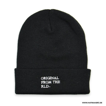 Beanie-Black-19x28cm-Hatmakers-02