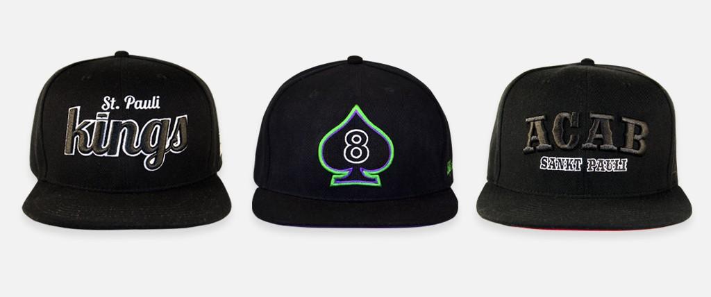 header-snapback caps black